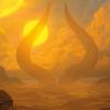 【アモンケット】毎ターン生物かPWを生贄に求める神話呪い!ライフゲイン付き勝利条件ソーサリー!破壊不能とブロック強制の余波!