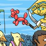 公式より「アモンケットの試練」解説漫画(?)公開!適当翻訳付き
